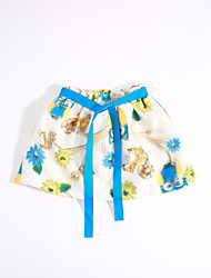 Girls' Casual/Daily Print Skirt-Cotton Summer