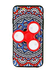 For Case Cover Fidget Spinner Pattern DIY Back Cover Case Mandala 3D Cartoon Hard TPU for AppleiPhone 7 Plus iPhone 7 iPhone 6s Plus