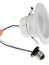 Youoklight 1pcs e26 / e27 10-12w 950lm ac110-130v 24 * 5730 smd chaud blanc / froid blanc led gradable downlight plafonnier