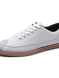 Herren Sneakers Frühjahr Herbst Komfort PU lässig grau schwarz weiß