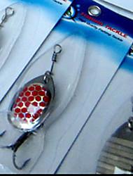 """30 pcs Leurre forme de cuillère Outils de pêche leurres de pêche Kits de leurre Violet g/Once,35 mm/1-3/8"""" pouce,Métal Pêche d'appât"""