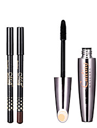 1Pcs Eyelashes Mascara Makeup Eyes Volume Longwearing Cosmetics 3D Fiber Lashes Lengthening Thick Curling Waterproof