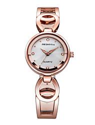 REBIRTH Dámské Módní hodinky japonština Křemenný / Slitina Kapela Běžné nošení Stříbro Zlatá Růžové zlatoBílá Černá Stříbrná Růžové zlato