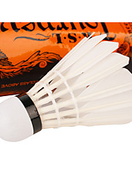 12PCS Leisure Sports Shuttlecocks Nondeformable Durable Stability for Duck Feather