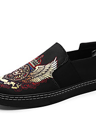 Men's Slip on Shoes Loafers & Slip-Ons Breathable Flat Shoes Lionhead