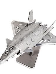 Puzzles Puzzles 3D Blocs de Construction Jouets DIY  Avion Métal Maquette & Jeu de Construction