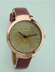 Women's Fashion Wrist watch Quartz Leather Band Brand