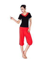 Femme Pantalons de Course Respirable Doux Confortable pour Yoga Exercice & Fitness Course/Running Coton Ample M L XL XXL XXXL