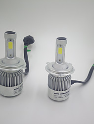 2Pcs/Set H4 36W 80000LM Hi/Low Beam Car LED Headlights Bulbs Fog Lighting Lamps H4 Hi/Lo Led Auto Car Head Lightings