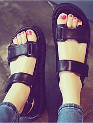 Women's Sandals Summer Creepers Comfort PU Casual