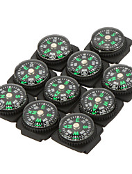 10pcs/lot Belt Buckle Mini Compass for Paracord Bracelet Outdoor Camping Hiking Travel Emergency Survival Navigation Tool
