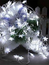 6W W Fili luminosi 7 lm AC220 10 m 100 leds Bianco caldo Bianco Colori primari