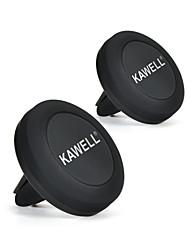 Support magnétique de support de voiture support kawell air vent magnétique support de support universel universel pour smartphones y