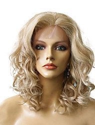 Lace Front Wig Heat Resistant Women Synthetic Fiber Wig Costume Party Wig