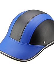 Motor Helmet Baseball Cap Style Safety Hard Hat Anti-UV  BlueBlack