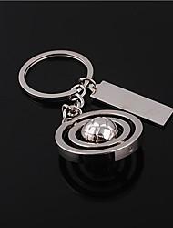 Aluminium Alloy Keychain Favors Piece/Set Personalized Silver