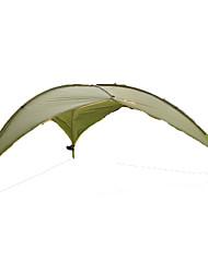 5-8 personnes Abri et Toile Unique Tente automatique Une pièce Tente de camping <1000mm Fibre de verre OxfordRésistant à l'humidité
