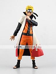 Las figuras de acción del anime Inspirado por Naruto Naruto Uzumaki PVC CM Juegos de construcción muñeca de juguete