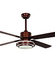 Ventilateur de plafond ,  Retro Rustique Nickel Fonctionnalité for LED Designers MétalSalle de séjour Salle à manger Bureau/Bureau de