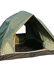 3-4 Pessoas Tenda Duplo Tenda Automática Um Quarto Barraca de acampamento 1000-1500 mm Fibra de Vidro OxfordÁ Prova de Humidade Prova de