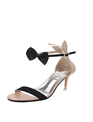Damen-High Heels-Kleid Lässig-PU-Stöckelabsatz-Club-Schuhe-