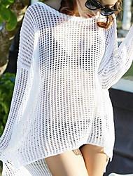 Vêtement couvrant Couleur Pleine Bandeau Polyester