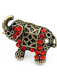 Korean Style Retro Delicate  Rhinestone  Female Cuff Ring Gift Jewelry