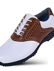 Повседневная обувь Обувь для игры в гольф Муж. Противозаносный Anti-Shake Амортизация Дышащий Износостойкий Выступление Низкое голенище
