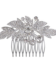 New Style Flower Leaves Comb