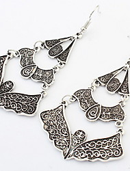 Euramerican Fashion Vintage Carve Patterns or Designs Drop Earrings Lady Party Movie Jewelry