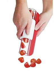 1Pcs New Fruit Slicer Tomato Grape Slicers Fruit Vegetable Tools Random  Color