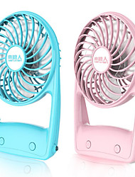 Mini Desk Fan Charging Students Hand Held Household Dormitory Mute Small Fan With Lamp