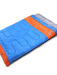 Sleeping Bag Rectangular Bag Double -10~5 T/C CottonX150 Camping Outdoor Keep Warm