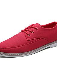Männer Sneakers Sommer Herbst Knöchelriemen Leinwand lässig rot grau schwarz