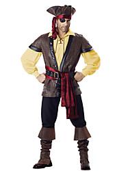Costumes de Cosplay Bal Masqué Ange et Diable Pirate Cosplay Fête / Célébration Déguisement d'Halloween ModeHaut Pantalon Plus