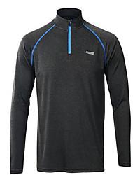 Course / Running Printemps Vêtements de sport Sport de détente Polyester Mince Gris