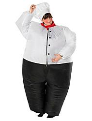 Costumes de Cosplay Pour Halloween Bal Masqué Costume Gonflable Imperméable Cosplay Cosplay de Film Collant/Combinaison Ventilateur
