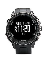 famosa marca de relojes H501 EZON caminatas al aire libre brújula altímetro barómetro de deporte grande del dial relojes para hombres
