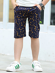 Boys' Going out Casual/Daily School Print Pants-Cotton Summer