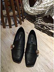 Women's Flats Light Up Shoes Satin Denim Office & Career Casual Flat Heel Army Green Gray Black