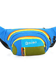 15 L Waist Bag/Waistpack Climbing Leisure Sports Camping & Hiking Rain-Proof Dust Proof Breathable Multifunctional