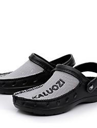 Masculino-Sandálias-Chanel-Rasteiro--Borracha-Ar-Livre Casual