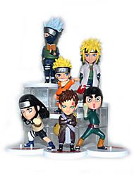 Figures Animé Action Inspiré par Naruto Naruto Uzumaki PVC 11-8.5 CM Jouets modèle Jouets DIY