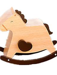 музыкальная шкатулка Лошадь Товары для отпуска Дерево Универсальные