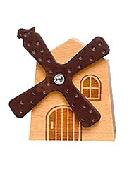 музыкальная шкатулка Ветряная мельница Товары для отпуска Дерево Универсальные