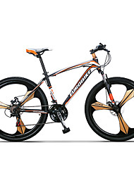 21 speeds Mountain Bike 3 Spokes  Bicicleta Plegable Wheels 26*Frame 17 *Tire 1.95 Mountain Bike 26