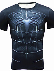Course / Running Tee-shirt Shirt Respirable Doux Confortable Eté Vêtements de sport Exercice & Fitness Sport de détente Course/Running