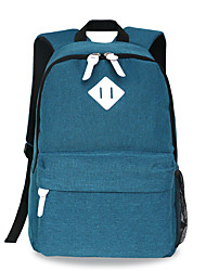 Sac à bandoulière de 18 pouces pour ordinateur sac à bandoulière en coréen couleur pure imperméable à l'eau unisexe