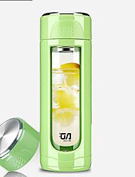 Minimalismo novidade to-go drinkware automotivo 400 ml padrão geométrico simples de retenção fabricante diy chá de aço inoxidável
