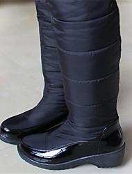 Mujer-Tacón Cuña-Confort-Botas-Informal-PU-